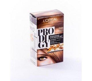 L`OREAL Prodigy 7.31 КарамельLOreal<br>Производство: Великобритания Краска для волос LOreal PRODIGY 7.31 Карамель – это современный и эффективный способ для каждой женщины всегда быть на высоте. Инновационная краска этой серии создана в лаборатории LOreal специально для легкого и удобного окрашивания в домашних условиях с настоящим салонным результатом. Среди ингредиентов полностью отсутствует вредный аммиак, а особые микромасла питают волосы и придают им здоровый блеск. Уникальная технология позволяет добиваться по-настоящему насыщенного и глубокого оттенка. Купить краску для волос LOreal PRODIGY 7.31 Карамель можно в Москве в торговом центре METRO. Производитель: LOreal Paris, Франция. Состав: 1 Красящий Крем (60 г) 1 Проявляющая Эмульсия (60 г) 1 Уход-усилитель Блеска (60 мл) 1 Инструкция 1 Пара перчаток 1.0 Состав: Красящий крем 1146239(C161729/2): PARAFFINUM LIQUIDUM / MINERAL OIL , AQUA / WATER , ETHANOLAMINE , STEARETH-20 , CAPRYLYL/CAPRYL GLUCOSIDE , POLYSORBATE 21 , TOLUENE-2,5-DIAMINE , STEARETH-2 , RESORCINOL , 2,4-DIAMINOPHENOXYETHANOL HCl , m-AMINOPHENOL , ASCORBIC ACID , SODIUM METABISULFITE , HYDROXYBENZOMORPHOLINE , ARGANIA SPINOSA OIL / ARGANIA SPINOSA KERNEL OIL , THIOGLYCERIN , POLYQUATERNIUM-67 , N,N-BIS(2-HYDROXYETHYL)-p-PHENYLENEDIAMINE SULFATE , CARTHAMUS TINCTORIUS OIL / SAFFLOWER SEED OIL , EDTA , PARFUM / FRAGRANCE , Проявляющая эмульсия 1071397(C42424/1): AQUA / WATER , PARAFFINUM LIQUIDUM / MINERAL OIL , HYDROGEN PEROXIDE , CETEARYL ALCOHOL , STEARETH-20 , PEG-4 RAPESEEDAMIDE , TOCOPHEROL , SODIUM STANNATE , POLYQUATERNIUM-6 , PENTASODIUM PENTETATE , PHOSPHORIC ACID , TETRASODIUM PYROPHOSPHATE , HEXADIMETHRINE CHLORIDE , GLYCERIN , Уход-усилитель Блеска 1087475(C159703/2): AQUA / WATER , CETEARYL ALCOHOL , BEHENTRIMONIUM CHLORIDE , CETYL ESTERS , LACTIC ACID , TRIDECETH-6 , CHLORHEXIDINE DIGLUCONATE , LIMONENE , LINALOOL , BENZYL SALICYLATE , BENZYL ALCOHOL , AMODIMETHICONE , ISOPROPYL ALCOHOL , 2-OLEAMIDO-1,3-OCTADECANEDIOL , BUTYLPHENYL