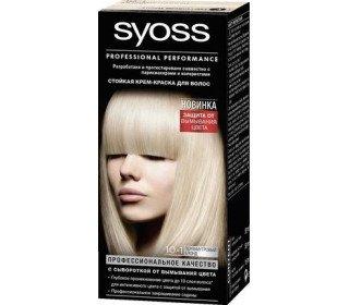 SYOSS Color 10-1 перламутровый блондSYOSS<br><br><br>Линейка: SYOSS Color 10-1 перламутровый блонд<br>Объем мл: 1шт<br>Пол: Женский