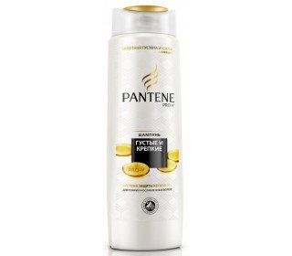 PANTENE PRO-V Густые и крепкиеPANTENE PRO-V<br>Шампунь PANTENE PRO-V Густые и крепкие, 400 мл делает волосы прочнее и объемнее. В составе используется специальная формула Pantene Pro-V, предусматривающая особую систему защиты кератина. Волосы после использования выглядят более здоровыми - увлажненными, крепкими и блестящими по всей длине. Средство имеет прозрачную гелеобразную консистенцию и приятный слегка сладковатый аромат. Для получения наиболее заметного эффекта можно сочетать с бальзамом и средствами серии «Густые и крепкие». Красивый белый флакон удобен в использовании и прекрасно смотрится как на полке магазина, так и в ванной комнате. Приобрести шампунь PANTENE PRO-V Густые и крепкие, 400 мл по привлекательной цене можно в Москве в торговом центре METRO. Производитель: Procter&amp;Gamble;, Румыния. Состав: aqua, sodium lauryl sulfate, sodium laureth sulfate, cocamidopropyl betaine, sodium citrate, sodium xylenesulfonate, sodium chloride, parfum, citric acid, sodium benzoate, hydroxypropyl methylcellulose, tetrasodium edta, butylphenyl methylpropional, panthenol, panthenyl ethyl ether, linalool, hexyl cinnamal, limonene, benzyl salicylate, magnesium nitrate, methylchloroisothiazolinone, magnesium chloride, methylisothiazolinone. Объем: 400 мл. Эффект от использования: укрепление, объем, блеск, увлажнение. Тип волос: для ослабленных, тонких волос. Срок годности: 3 года.<br><br>Линейка: PANTENE PRO-V Густые и крепкие<br>Объем мл: 400<br>Пол: Унисекс