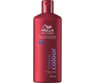 WELLA Pro Series Colour для красоты и защиты окрашенных волосWELLA<br>Шампунь WELLA Pro Series Colour для красоты и защиты окрашенных волос, 500мл<br><br>Линейка: WELLA Pro Series Colour для красоты и защиты окрашенных волос<br>Объем мл: 500<br>Пол: Унисекс