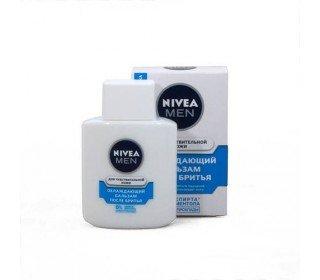 NIVEA Men для чувствительной кожиNIVEA<br>Охлаждающий бальзам после бритья NIVEA Men для чувствительной кожи, 100 мл обеспечит полноценную заботу о вашей чувствительной коже. Просто смочите тоником кожу в процессе умывания после процесса бритья, и вы сразу же ощутите тонкий и приятный запах, а также охлаждающий эффект. Особый состав этого продукта дополнен натуральным ментолом и не содержит спирт. Этот продукт моментально смягчает даже раздраженную кожу, устраняя неприятное чувство покалывания или жжения. Купить новый охлаждающий бальзам после бритья NIVEA Men для чувствительной кожи, 100 мл можно в Москве в торговом центре METRO. Производитель: Beiersdorf, Германия. Состав: Aqua, Glycerin, Isopropyl Palmitate, Chamomilla Recutita Flower Extract, Bisabolol, Tocopheryl Acetate, Tocopherol, Fucus Vesiculosus Extract, Menthoxypropanediol, Glycine Soja Oil, Tapioca Starch, Triceteareth-4 Phosphate, Sodium Carbomer, Caprylic/Capric Triglyceride, Phenoxyethanol, Piroctone Olamine, BHT, Linalool, Limonene, Geraniol, Parfum. Срок годности: 5 лет. Применение: нанесите небольшое количество бальзама на чистое лицо и шею после бритья. Условия хранения: в недоступном для детей месте.<br><br>Линейка: NIVEA Men для чувствительной кожи<br>Объем мл: 100<br>Пол: Мужской