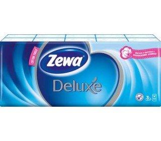 ZEWA DeluxeZEWA<br>Носовые платки ZEWA Deluxe выручат в дороге, на прогулке, на учебе и работе во время простуды или пригодятся для поддержания чистоты на рабочем месте. Изделие прекрасно заменяет аналог из ткани и позволят существенно сэкономить на стирке. Товар изготовлен из качественной целлюлозы. Каждый платочек отличается мягкой текстурой, благодаря которой деликатно удаляет с кожи загрязнения. В большой упаковке содержится 10 стандартных пачек. В каждой из них находится по 10 трехслойных платочков. Изделия прекрасно впитывают влагу, а отсутствие отдушек делает их гипоаллергенными. Носовые платки ZEWA Deluxe, 10шт в Москве купить по привлекательной цене можно в торговом центре METRO. Состав: 100% целлюлоза. Срок годности: не ограничен. Страна-производитель: Россия.<br><br>Линейка: ZEWA Deluxe<br>Объем мл: 10шт<br>Пол: Унисекс