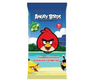 ANGRY BIRDS универсальныеANGRY BIRDS<br><br><br>Линейка: ANGRY BIRDS универсальные<br>Объем мл: 30шт<br>Пол: Унисекс