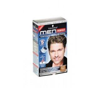 SCHWARZKOPF men perfect 60. натуральный средне-каштановыйSchwarzkopf<br>Производство: Германия Компания Schwarzkopf создала новинку специально для мужчин. Тонирующий гель для мужчин MEN PERFECT – специальное средство для мужчин по уходу за волосами. Если прическа потеряла былую яркость, то вовсе не обязательно использовать краску, гель MEN PERFECT – эффективное средство для придания нужного оттенка. Окрашивание ещё никогда не было таким простым, ведь для процедуры достаточно 5 минут. Волосы станут более ухоженными, меньше будет заметна седина. Нанесение производится специальным аппликатором, который как расческа, распределяет гель по волосам. Формула геля не содержит аммиака и дополнена природными компонентами. Женьшень и кератин наполнят волосы здоровьем изнутри, а следов окрашивания и вовсе не будет заметно окружающим. Обладателям темно-русых и каштановых волос наверняка подойдет гель MEN PERFECT 60 НАТУРАЛЬНЫЙ СРЕДНЕ-КАШТАНОВЫЙ. Средство протестировано дерматологами и выдерживает многократное мытье волос. Основные характеристики: Производитель: Schwarzkopf Объем: 80мл Комплектация: флакон-аппликатор с проявляющей эмульсией, инструкция, перчатки.<br><br>Линейка: SCHWARZKOPF men perfect 60. натуральный средне-каштановый<br>Объем мл: 80<br>Пол: Мужской