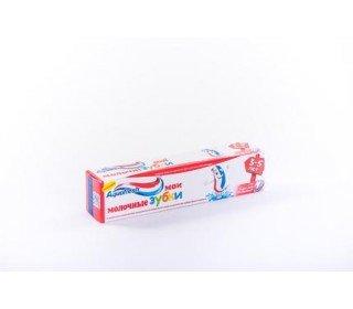 AQUAFRESH Мои большие зубки детскаяAQUAFRESH<br>Зубная паста AQUAFRESH Мои большие зубки детская, 50 мл – оптимальный выбор для детей младшего школьного возраста. Высокое содержание фтора позволит укрепить эмаль во время смены молочных зубов на коренные. Паста создана для детей и отличается приятным запахом и вкусом. Она дарит не только ощущение свежести, но и надежную защиту от кариеса. Средство рассчитано на ежедневное применение дважды в сутки, но не более трех раз в день. Детская паста всегда отличается более нежным и щадящим составом. Но в период смены зубов очень важно, чтобы новые зубки росли крепкими и здоровыми. Именно поэтому AQUAFRESH разработала пасту для детей от 6 лет. Она одинаково надежно защищает и молочные, и коренные зубы. При этом средство трехцветное, что очень нравится детям. Вкус мятный, мягкий и приятный. Даже небольшое количество средства – примерно с горошину дает обильную пену, которая легко выполаскивается. Пасту нельзя глотать, но для детей младшего школьного возраста правила ухода за зубами обычно уже не только известны, но и привычны. В торговых центрах METRO в Москве можно найти зубную пасту AQUAFRESH Мои большие зубки детская, 50 мл по самой низкой цене. Производитель: SmithKline Beecham, Великобритания. Состав: Aqua Hydrated Silica Sorbitol Glycerin Xanthan Gum Titanium Dioxide Cocamidopropyl Betaine Sodium Methyl Cocoyl Taurate Aroma Chondrus Crispus (Carrageenan) Sodium Fluoride Sodium Saccharin Limonene CI 73360 CI 74160. Срок годности: 36 месяцев. Условия хранения: при температуре от +6°С до +25°С и относительной влажности воздуха 55-70%, избегать попадания прямых солнечных лучей. Применение: не глотать. Детям в возрасте до 6 лет рекомендуется использовать количество зубной пасты размером с горошину под присмотром взрослых.<br><br>Линейка: AQUAFRESH Мои большие зубки детская<br>Объем мл: 50<br>Пол: Женский