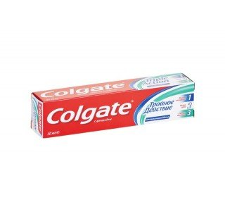 COLGATE triple actionCOLGATE<br><br><br>Линейка: COLGATE triple action<br>Объем мл: 50<br>Пол: Унисекс