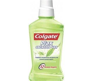 COLGATE plax Свежесть чаяCOLGATE<br>Ополаскиватель для полости рта COLGATE Plax Свежесть чая, 500мл подарит вам ощущение чистоты и свежести на долгое время. Средство произведено под строгим контролем стоматологов и является отличным дополнением к зубной пасте. Оно станет хорошим способом освежить дыхание в середине дня или защитить полость рта от бактерий после еды. Ополаскиватель обладает мягким и вместе с тем освежающим вкусом, не вызывает ощущения жжения и не содержит спирта. Он легко проникает даже в труднодоступные для зубной щетки места и способствует оздоровлению не только зубов, но и десен. Регулярное применение средства способствует уменьшению риска возникновения кариеса и зубного налета, снимает воспаление десен. Вы можете купить ополаскиватель для полости рта COLGATE Plax Свежесть чая, 500мл в METRO в Москве. Состав: вода, глицерин, пропиленгликоль, сорбитол, полоскамер 407, ароматизаторы, сахаринат натрия, цетилпиридиний хлорид, сорбат калия, фторид натрия, ментол, экстракт листьев зеленого чая, красители CI 19140, CI 42051. Пол: унисекс. Эффект: уход, освежение. Возраст: взрослая.<br><br>Линейка: COLGATE plax Свежесть чая<br>Объем мл: 500<br>Пол: Унисекс