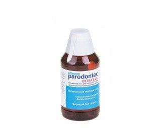 PARODONTAX экстраPARODONTAX<br>Ополаскиватель для полости рта PARODONTAX экстра – это эффективное средство в борьбе с воспалением десен и их кровоточивостью. Благодаря специальному антибактериальному компоненту, жидкость помогает ежедневно защитить полость рта и десны от заболеваний. При рекомендуемом использовании (30 секунд полоскания после каждой чистки зубов) эффективность удаления налета увеличивается. Для удобства измерения необходимой дозы в комплекте с ополаскивателем прилагается мерный стаканчик. Средство обладает супер-освежающим действием, которое сохраняется в течение долгого времени и дарит бодрящее дыхание. После полоскание не нужно дополнительно промывать рот водой. Ополаскиватель для полости рта PARODONTAX экстра, 300мл всегда можно найти в Москве в ассортименте торгового центра METRO по выгодной цене. Объем: 300 мл. Срок годности: 30 месяцев. Хранить при температуре не выше +25°С. Не замораживать. Меры предосторожности: не рекомендуется детям младше 6 лет. Не глотать. Хранить в недоступном для детей месте. Тип упаковки: пластмассовая бутылочка. Производитель: SmithKline Beecham. Страна-производитель: Великобритания.<br><br>Линейка: PARODONTAX экстра<br>Объем мл: 300<br>Пол: Унисекс