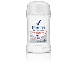 REXONA Антибактериальный эффект карандашREXONA<br>Антиперспирант REXONA Антибактериальный эффект, карандаш, 50 мл активно борется с бактериями, вызывающими неприятный запах. Его уникальная формула бережно защищает и ухаживает за нежной кожей ваших подмышек, делает ее мягкой и препятствует раздражению. Продукт обладает приятным, в меру сладким ароматом с нотками имбиря и цитруса, который придаст вам ощущение свежести и чистоты в течение всего дня. Антиперспирант-карандаш экономично расходуется, при нанесении мгновенно высыхает на теле, поэтому не оставит следов и белых пятен на вашей одежде. Приобрести антиперспирант REXONA Антибактериальный эффект, карандаш, 50 мл вы можете в Москве в торговом центре METRO. Производитель: ООО Юнилевер Русь, Россия, г. Москва, ул. Сергея Макеева, д. 13. Применение: поверните основание контейнера по стрелке и проведите карандашом по чистой и сухой коже подмышек. Срок годности: 30 месяцев.<br><br>Линейка: REXONA Антибактериальный эффект карандаш<br>Объем мл: 50<br>Пол: Мужской