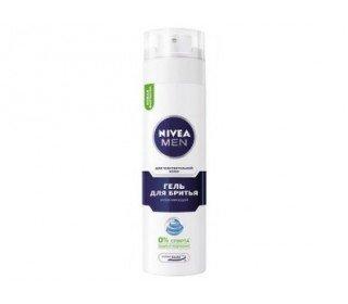 NIVEA для чувствительной кожиNIVEA<br>Гель для бритья NIVEA для чувствительной кожи создан специально для мужчин с чувствительной кожей, склонной к покраснениям, раздражениям и воспалениям. Теперь вам не нужно переживать дискомфорт при каждом бритье. Формула геля с ромашкой, витаминами и минералами обладает необычайной легкостью, не сушит кожу, снижает риск раздражений, а также обеспечивает идеально гладкое скольжение, позволяя добиться прекрасного результата с одного движения. Средство можно назвать современным и инновационным благодаря использованию системы Ultra Glide, которая защищает от микропорезов и гарантирует гладкую кожу. Купить продукт в Москве можно в торговом центре METRO. Серия: Nivea for Men. Организация: Beiersdorf AG. Пол: Мужские. Предназначение: Для бритья. Эффект от использования: Питание. Тип кожи: Чувствительная. Зона нанесения: Лицо.<br><br>Линейка: NIVEA для чувствительной кожи<br>Объем мл: 200<br>Пол: Мужской