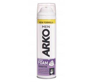 ARKO для чувствительной кожиARKO<br>Пена для бритья ARKO<br><br>Линейка: ARKO для чувствительной кожи<br>Объем мл: 200<br>Пол: Мужской