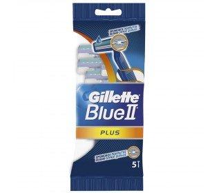 GILLETTE Blue II PlusGILLETTE<br><br><br>Линейка: GILLETTE Blue II Plus<br>Объем мл: 5шт<br>Пол: Мужской