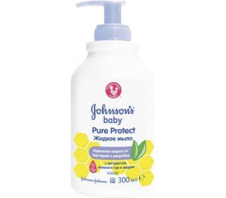 JOHNSONS BABY Pure Project 2 в 1 для мытья рук и тела 300 мл (жен)