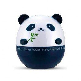 Pandas Dream White Sleeping pack Tony MolyTony Moly<br>Ночная маска с осветляющим эффектом, сделает вашу кожу светлее и нежнее.&amp;nbsp;Особенно актуальным ее применения, приходится на весенний период, когда начинают активно просыпаться веснушки.<br>Главным достоинством маски, есть то, что она состоит из натуральных веществ, таких как:<br><br>экстракт розмарина;<br>экстракт черники;<br>экстракт ежевики;<br>сок бамбука;<br>экстракт лаванды и прочие полезные приятности.<br><br>Пока вы будете отдыхать, ночная маска будет творить настоящие чудеса, поскольку она:<br><br>расслабляет;<br>бережно отбеливает;<br>выравнивает цвет;<br>успокаивает;<br>подавляет образование новых проявлений пигментации в виде шаловливых веснушек;<br>разглаживает;<br>придает здоровый и красивый цвет;<br>регенерирует;<br>повышает упругость и эластичность;<br>увлажняет и питает сухую кожу.<br><br>В маске не содержаться вредные и искусственные вещества в лице парабенов, минеральных масел, бензофенона, искусственных красителей и триэтаноломина.<br>Способ применения: поскольку маска ночная, то наносят ее за пол часа до того, как отправится в кровать. Изначально необходимо умыться и удалить косметику. Очистить кожу любимым лосьоном и нанести маску. Не переживайте по поводу того, что ночная маска с осветляющим эффектом, может оставить следы на вашей наволочке.<br>Маска прекрасно ложиться на кожу лица, и достаточно хорошо впитывается, практически как ночной крем для лица. Утро, начинайте как обычно, то есть с умывания теплой водой.<br><br>Линейка: Pandas Dream White Sleeping pack Tony Moly<br>Объем мл: 50<br>Пол: Женский