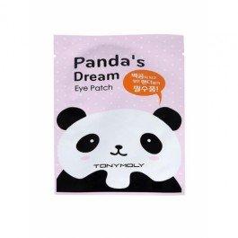 PANDAS DREAM EYE PATCH Tony MolyTony Moly<br>Осветляющие патчи Tony Moly Pandas Dream Eye Patch помогут Вам сделать темные круги (синяки) под глазами светлее, кожу более упругой и эластичной, а взгляд глубоким и сияющим.<br>Основной компонент Ниацинамид (активная форма витамина В3) - осветляет кожу, препятствует образованию меланина, а также стимулирует синтез коллагена и производство собственных церамидов. Также в составе патчей есть гиалуроновая кислота, масло ши и другие высокоэффективные компоненты, которые делают кожу упругой, улучшают контур века, увлажняют, питают кожу и разглаживают мелкие морщинки.<br>Способ применения: после очищения кожи, разместить патчи вокруг глаз и оставить на 15-20 минут, после снятия, остатки распределить по коже, не смывать.<br><br>Линейка: PANDAS DREAM EYE PATCH Tony Moly<br>Объем мл: 30<br>Пол: Женский