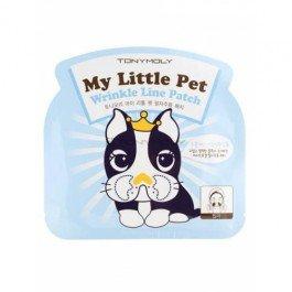 My Little Pet Wrinkle Line Patch Tony MolyTony Moly<br>Гидрогелевая маска для борьбы с морщинами вокруг губ и носогубных складок, рекомендована для интенсивного придания кожи упругости и восстановления поврежденных участков кожи. Пэтч наносится локально на проблемные зоны, мягко воздействует на кожу и помогает восстановить упругость и эластичность кожи на проблемной зоне.<br>В состав средства входит экстракт грейпфрута, розы, зеленого чая и многие другие вещества, которые помогают не только бороться с морщинами. Но и восстанавливают здоровый цвет лица на наносимом участке.<br>Коллаген интенсивно наполняет кожу упругостью и не дает ей деформироваться. Коллагеновые волокна поддерживают кожу изнутри, придают ей свежесть и гладкость. Способен впитывать и держать влагу в подкожной прослойке, что обеспечивает коже постоянную увлажненность.<br>Способ применения: нанесите на чистую кожу или после тонера. Вскройте упаковку и нанесите маску на носогубные складки. Аккуратно разгладьте средство и оставьте на 30 минут. После этого, удалите маску и вмассируйте остатки вещества.<br><br>Линейка: My Little Pet Wrinkle Line Patch Tony Moly<br>Объем мл: 5<br>Пол: Женский