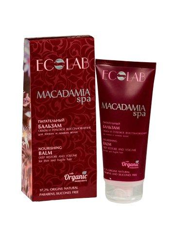 Объем и Глубокое восстановление для тонких и ломких волос EcolabEcolab<br>Производство: Россия Бальзам питает волосы и повышает их пышность, упрощает расчёсывание и укладку.<br>        <br>&lt; p=&gt; Питательный бальзам обогащает и восстанавливает волосы, повышает их пышность, упрощает расчёсывание и укладку.<br>Масло макадамии – мощное оздоравливающее средство, которое оживляет тонкие ломкие волосы, наделяя их блеском и силой. Подходит для любого типа волос.<br><br>Линейка: Объем и Глубокое восстановление для тонких и ломких волос Ecolab<br>Объем мл: 200<br>Пол: Женский