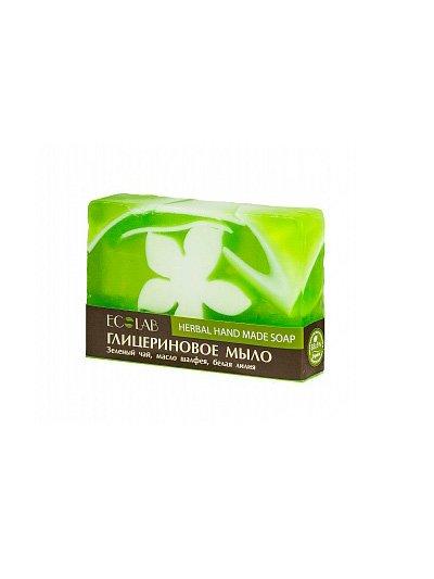 Herbal Soap EcolabEcolab<br>Производство: Россия Оказывает вяжущее и успокаивающее действие, тонизирует и оздоравливает кожу. Состав обогащён экстрактами зелёного чая и лилии.<br>        <br>Глицериновое мыло ECOLAB с шалфеем. Изготовлено вручную. Шалфей  мускатный (экстракт) родом из Средиземноморья.  Оказывает вяжущее и успокаивающее действие, тонизирует и улучшает качество кожи. Состав обогащён экстрактами зелёного чая и лилии. Рекомендуется для нормальной и жирной кожи.  Состав продукта ищите на упаковке.  <br>    <br><br>Линейка: Herbal Soap Ecolab<br>Объем мл: 130<br>Пол: Унисекс