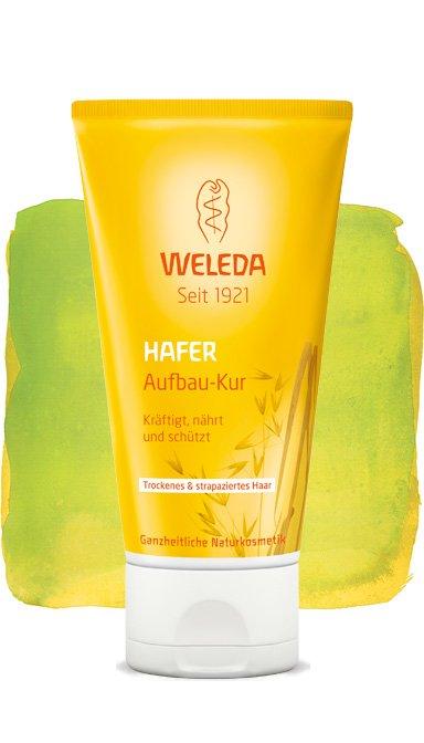 WeledaWeleda<br>Производство: Германия Усиленно заботится о волосах, не утяжеляя их, и дает дополнительное увлажнение. Восстанавливающая маска с экстрактом овса благодаря входящим в ее состав природным ингредиентам интенсивно ухаживает за волосами и восстанавливает их структуру. Органическое масло жожоба и масло ши укрепляют и разглаживают поверхность волос, усиленно заботятся о волосах, не утяжеляя их, и дают дополнительное увлажнение.Для естественной красоты волос необходимо обеспечить им интенсивный уход. Восстанавливающая маска с экстрактом овса, содержащая органическое масло жожоба, масло ши, укрепляет и разглаживает поверхность волос, усиленно заботится о волосах, не утяжеляя их, и дает дополнительное увлажнение. Не содержит силиконов, минеральных масел, моющих веществ на основе сульфатов, синтетических ароматизаторов и консервантов.Способ применения: 1-2 раза в неделю наносите мягкими массирующими движениями на влажные волосы, оставляя на 5-10 минут, после чего смывайте.<br><br>Линейка: Weleda<br>Объем мл: 150<br>Пол: Женский