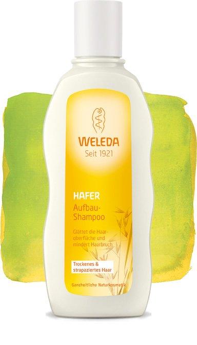 WeledaWeleda<br>Производство: Германия Питает волосы, восстанавливает их структуру и возвращает естественную гладкость и блескУ сухих и поврежденных волос нарушена защитная оболочка. Экстракт овса, входящий в состав натурального шампуня для сухих и ослабленных волос Weleda питает волосы, восстанавливает их структуру и возвращает естественную гладкость и блеск. Шампунь с экстрактом овса Weleda бережно очищает, разглаживает волосы, уменьшает ломкость и предотвращает появление секущихся кончиков. Входящие в состав шампуня органические масла жожоба, экстракт овса и шалфея возвращают волосам естественный блеск. Нежные цветочные нотки мимозы в сочетании со сладко-душистым запахом бобов тонка, напоминающим марципан, придают продуктам линейки нежный и теплый аромат. Шампунь с экстрактом овса Weleda эффективно восстанавливает структуру волоса и мягко очищает волосы и кожу головы. Не содержит силиконов, минеральных масел, моющих веществ на основе сульфатов, синтетических ароматизаторов и консервантов. Состав:Вода , Двунатриевый кокоил глутамат , Двунатриевый кокогликозид цитрат , Аминокислоты овса , Спирт , Глицерин , Ксантан, или ксантановая камедь , Сахарозы лаурат , Аромат , Глицерил каприлат , Пироглутамат натрия , Экстракт зеленого овса , Масло жожоба , Экстракт шалфея , Лактоза, или молочный сахар , Натрия кокоил глутамат , Глицерил олеат , Аргинин , Гидролизат протеинов пшеницы , Фитат натрия , Лимонен* 1 , Линалоол* 1 , Цитронеллол* , Гераниол* , Кумарин*<br><br>Линейка: Weleda<br>Объем мл: 190<br>Пол: Женский
