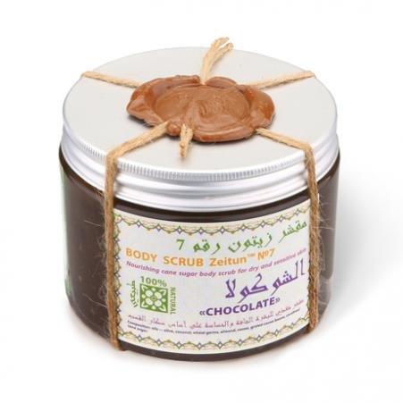 Шоколад питательный сахарный скраб для сухой, чувствительной кожи Zeitun 800 мл (жен)