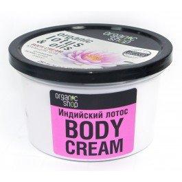 Индийский лотос Organic shopOrganic shop<br>Производство: Россия Благодать Индии воплотилась в ароматном креме для тела «Индийский лотос» от органической торговой марки Organic Shop. Вся продукция компании сделана только из натуральных, природных компонентов. Специально для кожи тела специалисты разработали крем Body Cream Organic Lotus &amp;amp; Oils, который бережно ухаживает и питает кожу.<br>        <br>Назначение:&amp;nbsp;питание, увлажнение<br>Благодать Индии воплотилась в ароматном креме для тела &amp;laquo;Индийский лотос&amp;raquo; от органической торговой марки Organic Shop. Вся продукция компании сделана только из натуральных, природных компонентов. Специально для кожи тела специалисты разработали крем Body Cream Organic Lotus &amp;amp; Oils, который бережно ухаживает и питает кожу.<br>Поскольку кожа тела имеет больше проблемных участков, для ее восстановления необходим специальный комплекс, способный восстановить ее на самых глубоких уровнях. Отныне дряблая, сухая, склонная к растяжкам и целлюлиту кожа навсегда останется в прошлом &amp;ndash; с кремом для тела &amp;laquo;Индийский лотос&amp;raquo; ваша красота исключительно в ваших руках!<br>В состав средства на основе органического лотоса входят 5 масел: жожоба, карите, чайного дерева, равенсары и микелии. Благодаря взрывному миксу этих редкостных масел тело в мгновение ока она станет нежным, упругим, омолодиться и засияет. Вы почувствуете, словно после унылой осени вы расцвели, как молодое деревце. Сбросили засохшие, пожелтевшие листья и пустили новые ростки.<br>Легкая текстура крема быстро впитывается, не оставляя жирных следов. Наносите Body Cream Organic Lotus &amp;amp; Oils на чистую кожу после купания и расцветайте, словно загадочный цветок лотоса!<br>Способ применения:&amp;nbsp;легкими массажными движениями нанести крем на чистую кожу тела.<br>Состав:&amp;nbsp;Aqua, Organic Butyrospermum Parkii (органическое масло карите), Isopropylpalmitate, Cetearyl Alcohol, Cetearyl Glucoside, Glycerin, Miche