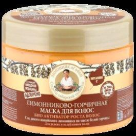 Био-активатор роста волос, лимонниково-горчичная Бабушка Агафья 300 мл (жен)