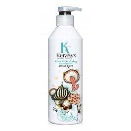 Шарм KerasysKERASYS<br>&amp;lt;p&amp;gt;Специально разработанная формула для сухих и ломких волос, мгновенно увлажняет и восстанавливает структуру волос по всей длине.&amp;nbsp;Волосы обретают жизненную силу, блеск и шелковистость.&amp;nbsp;Содержит пантенол (провитамин В5), экстракты белой лилии и гардении.&amp;lt;/p&amp;gt;.<br>        <br>Основные свойства:<br><br>Специально разработанная формула для сухих и ломких волос, мгновенно увлажняет и восстанавливает структуру волос по всей длине.<br>Волосы обретают жизненную силу, блеск и шелковистость.<br>Содержит пантенол (провитамин В5), экстракты белой лилии и гардении. <br><br>Аромат:<br><br>Чистый и свежий аромат словно прохлада раннего весеннего утра.<br>Придаст Вам невероятный шарм и неповторимое очарование. <br><br>Парфюмерная композиция:<br><br>Начальная нота: бергамот, мандарин, зеленый мандарин. <br>Срединная нота: ландыш, цветы персика, розовая роза. <br>Конечная нота: кедр, мускус, кардамон. <br><br><br>Линейка: Шарм Kerasys<br>Объем мл: 600<br>Пол: Женский