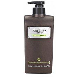 Kerasys KerasysKERASYS<br>Шампунь для лечения кожи головы предназначен для мужчин. Эффективно борется с перхотью, зудом и другими проблемами кожи головы. Делает волосы красивыми и сильными, а кожу головы здоровой.<br>Действие: <br><br>Шампунь эффективно борется с перхотью, зудом и другими проблемами кожи головы. <br>Богатые минералы океанических вод улучшают кровообращение и способствуют процессу регенерации клеток кожи головы.<br>Экстракты натуральных трав снимают напряжение и усталость кожи головы, заряжают энергией.<br><br>Способ применения: необходимое количество нанести на кожу головы и волосы, вспеньте, затем тщательно смойте.<br>Состав: <br><br>экстракты натуральных трав. <br>минералы океанической воды.<br><br><br>Линейка: Kerasys Kerasys<br>Объем мл: 550<br>Пол: Мужской