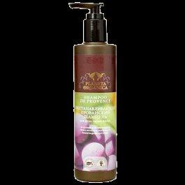 Прованский для всех типов волос Planeta OrganicaPlaneta Organica<br>Производство: Россия Восстанавливающий прованский шампунь.<br><br>Органическое масло виноградной косточки и органический экстракт мяты перечной;<br>Содержит 6 прованских трав;<br>Витамины А, В, С, Е для красоты и здоровья волос.<br><br>6 прованских трав содержат эфирные масла, органические кислоты, ферменты, витамины и минеральные вещества, которые восстанавливают и укрепляют структуру поврежденных волос. В масле виноградной косточки содержатся такие полезные вещества, как витамины А, В, С, Е и РР, протеин, натуральный хлорофилл, а также жирные кислоты, &amp;mdash; всё это способствует восстановлению разрушенной структуры волос, насыщению их важными макро- и микроэлементами, а также приданию волосам блеска и шелковистости. Мята обогащена витаминами С и Р, каротином и минеральными солями, благодаря чему она препятствует выпадению волос и ускоряет их рост.<br><br>Линейка: Прованский для всех типов волос Planeta Organica<br>Объем мл: 280<br>Пол: Женский
