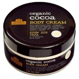 Organic Cocoa Planeta OrganicaPlaneta Organica<br>Производство: Россия Крем для тела на основе органического масла эквадорского какао подарит коже сияющий и здоровый вид, надолго восстанавливая оптимальный уровень увлажненности.Мгновенно впитывается и придает эластичность, замедляя процесс старения.<br>Преимущества данного продукта:<br><br>Не содержит синтетических красителей;<br>Не содержит SLS, парабенов;<br>Не тестируется на животных.<br><br><br>Линейка: Organic Cocoa Planeta Organica<br>Объем мл: 300<br>Пол: Женский