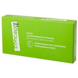 Line Бустер с кератиновым экстрактом, 10 ампул Concept 100 мл (жен)
