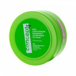 Line Крем, препятствующий выпадению и активирующий рост волос ConceptConcept<br>Производство: Германия Крем&amp;nbsp;Concept&amp;nbsp;hair&amp;nbsp;loss&amp;nbsp;reducing&amp;nbsp;and&amp;nbsp;stimulant&amp;nbsp;cream&amp;nbsp;- это профессиональное средство, оказывающие на волосы благотворное воздействие, стимулирующие их активный рост и останавливающие их выпадение. Уникальная комбинация природных компонентов позволяет восстановить структуру волос, укрепить волосяные луковицы и обеспечивает необходимое питание коже головы.<br>Крем&amp;nbsp;Concept&amp;nbsp;hair&amp;nbsp;loss&amp;nbsp;reducing&amp;nbsp;and&amp;nbsp;stimulant&amp;nbsp;cream&amp;nbsp;интенсивно восстанавливает волосы по всей длине, делая их гладкими, эластичными и блестящими. Комплекс из эфирных масел и микроэлементов ускоряют обменные процессы в клетках кожи, укрепляя тем самым корни волос и останавливая их выпадение.<br>Регулярное применение продукта позволит существенно замедлить процесс потери волос, ускорить их рост и внешнее состояние. Волосы приобретут жизненную силу, станут послушными и блестящими.<br>Способ применения: крем&amp;nbsp;Concept&amp;nbsp;hair&amp;nbsp;loss&amp;nbsp;reducing&amp;nbsp;and&amp;nbsp;stimulant&amp;nbsp;cream&amp;nbsp;равномерно распределить по коже головы и всей длине волос нежными массажными движениями. Оставить средство на волосах на 10-15 минут, смыть большим количеством воды, избегая попадания в глаза.<br><br>Линейка: Line Крем, препятствующий выпадению и активирующий рост волос Concept<br>Объем мл: 300<br>Пол: Женский