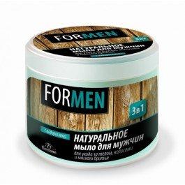 Натуральное мыло для мужчин 3 в 1 Флоресан 450 мл (муж)