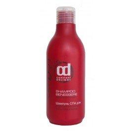 Constant DelightConstant Delight<br>Производство: Италия Шампунь Constant Delight shampoo benessere capeli colorce мягко очищает окрашенные волосы и бережно ухаживает за их структурой. На основе входящего в состав экстракта цветков японского клена - обеспечивает естественное увлажнение окрашенных волос и эффективно выводит накопившиеся токсины, которые остаются внутри волос после окрашивания. Особый комплекс шампуня закрепляет цветовые пигменты красителя, продлевая стойкость цвета. Придает волосам ухоженный вид и природный блеск.<br>Идеально подходит для завершения процедуры окрашивания волос. Благодаря специальному PH-балансу идеально подходит для сохранения стойкости цвета в домашних условиях.<br>Способ применения: нанесите необходимое количество шампуня на волосы, деликатно массажируя кожу головы. Оставьте шампунь на 2-3 минуты, затем тщательно смойте. Благодаря своей мягкой формуле подходит для ежедневного использования.<br>Состав: Вода, Содиум Лаурет Сульфат, Содиум лаурил сульфат, ПЭГ-120 метил глюкоза диолеат, Кокамидопропил бетаин, Кокамид МЕА, Гликоль дистеарат, Лаурамид МИПА, Лаурет-10, Гидролизованный пшеничный глитен, Поликватерниум-10, ПЭГ-15 кокополиамин, Имидазолидинил мочевины, Цитрусовая кислота, Тетрасодиум ЭДТА, Гексил синнамал, Пропилен гликоль, Лимонин, Линалоол, Экстркт цветка японского клена (Sophora japonica), Бутилфенил метилпропионал, Метилхлороизотиазолинон, Метилизотиазолинон, Отдушка (Fragrance).<br><br>Линейка: Constant Delight<br>Объем мл: 250<br>Пол: Женский