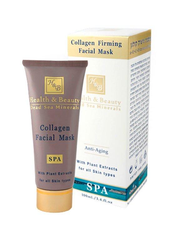 Health&amp; BeautyHealth &amp; Beauty<br>Производство: Израиль Маска обладает ярко выраженным омолаживающим действием и предназначена для повышения эластичности и экспресс лифтинга сухой, зрелой и увядающей кожи лица. Маска содержит высокую концентрацию активных веществ. В ее состав входят: коллаген, витамины - антиоксиданты А, Е, С и В5, масла ромашки, папайи, зерен винограда, жожоба, оливы, миндаля, сои, а также экстракт алоэ и минералы Мертвого моря. После применения маски кожа становится гладкой, упругой и бархатистой. Подходит для всех типов кожи.<br>        <br>Разрушительные изменения эластичных волокон кожи, происходящие в результате сокращения количества коллагена и эластина, которые ответственны за упругость кожи и ее плотность. Ослабление лицевых мышц, гормональные изменения, воздействие солнца и возраст заставляют кожу терять плотность и покрываться морщинами. Маска обогащена витаминами с высокой антиоксидантной активностью, такими как витамины А, В5, С и Е, коллагеном, экстрактами папайи и ромашки, маслами виноградных косточек, жожоба, оливковым и миндальным, алоэ вера и минералами Мертвого моря.&amp;nbsp;&amp;nbsp;&amp;nbsp;Маска содержит в составе воду Мертвого моря, богатую минеральными соединениями, обеспечивающими интенсивное увлажнение кожи. Благодаря повышению уровня влажности коллагеновые волокна медленнее разрушаются. Минералы также улучшают кровообращение и стимулируют рост новых клеток.Экстракты алоэ вера, ромашки, кардамона обладают противовоспалительными, увлажняющими и смягчающими свойствами, заживляют повреждения и ожоги, матируют и разглаживают кожу, улучшают регенерацию и оживляют усталую и обезвоженную кожу. Экстракт папайи, основным активным элементом которого является протеолитический фермент папаин, позволяет очистить кожу от отмерших клеток и ускорить процесс обновления эпидермиса, разгладить рубцы и улучшить проницаемость мембран для других активных веществ маски.Масла семян моркови, косточек винограда, жожоба, оливок и миндаля бо