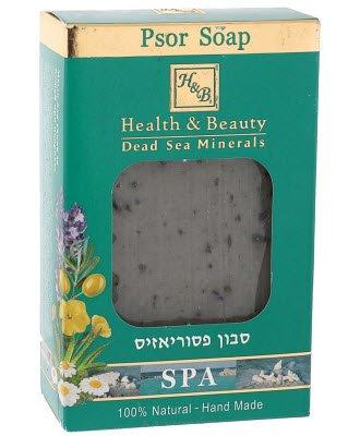 Health&amp; BeautyHealth &amp; Beauty<br>Производство: Израиль &amp;lt;span style=color: #ff0000;&amp;gt;&amp;lt;strong&amp;gt;Срок годности: до 03.2017&amp;lt;/strong&amp;gt;&amp;lt;/span&amp;gt;&amp;lt;br /&amp;gt;Уникальное натуральное мыло гипоаллергенно и производится вручную. Уровень Ph мыла оптимален для кожи, снимает сухой слой кожи, успокаивает покраснение и зуд и является эффективным лечением при проблемной коже.<br>        <br>Срок годности: до 03.2017<br>Показания: специальное гипоаллергенное мыло ручной работы с оптимальным уровнем РН обеспечивает очищение кожи от сухих отмерших клеток, снимает покраснение, зуд, оказывает лечебное действие при наличии таких заболеваний, как псориаз, экзема, дерматит. Содержит бензоин и минералы Мертвого моря, способствующие детоксикации кожи, оказывает противовоспалительное и заживляющее действие.<br>Действие: мыло, лечебное действие которого основано на минералах Мертвого моря, разглаживает и подтягивает кожу, нейтрализует бактерии, очищает от грязи и излишков себума и пота. Минералы обладают бактерицидным действием, противовоспалительными свойствами, укрепляют стенки сосудов.<br>Масла оливок и календулы обеспечивают нормализацию метаболизма клеток, питание, увлажнение и подавляет воспаления, повышает тонус клеток, ускоряет регенерацию кожи, снимает аллергические реакции. Эфирные масла бергамота, лаванды и чайного дерева смягчают и питают сухую кожу, обладают антисептическими свойствами.<br>Способ применения: мыльную пену нанести на проблемный участок, оставить на две минуты, тщательно смыть. После чего нанести крем для сухой кожи.<br>Активные ингредиенты: бензоин, грязь Мертвого моря, оливковое масло, экстракт алоэ, экстракт ромашки, эфирное масло бергамота, эфирное масло герани, эфирное масло чайного дерева, эфирное масло лаванды, масло календулы.<br><br>Линейка: Health&amp; Beauty<br>Объем мл: 100<br>Пол: Женский