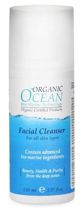 Organic OceanOrganic Ocean<br>Производство: Израиль &amp;lt;p&amp;gt;Мягкий гель для умывания Organic Ocean на основе органического сока алоэ вера бережно очищает от загрязнений и косметических средств, не нарушая защитный барьер кожи.&amp;lt;/p&amp;gt;.<br>        <br>Мягкий гель для умывания Organic Ocean на основе органического сока алоэ вера бережно очищает от загрязнений и косметических средств, не нарушая защитный барьер кожи. Активные морские экстракты красных водорослей защищают кожу от окисления и оказывают помощь в восстановлении поврежденного эпидермиса; Ценнейшее масло инка-инчи, богатое витаминами А , Е и С смягчает, питает, регенерирует кожу, придаёт ей эластичность, обладает успокоительными свойствами; Био - комплекс NECTAPURE на основе экстрактов буддлеи Давида и тимьяна оказывает сопротивление агрессивному воздействию окружающей среды и предотвращает преждевременное старение кожи, обладает мощным антибактериальным, противовоспалительным действием. Гель идеально подготавливает кожу для дальнейшего ухода, дарит ощущения свежести и комфорта.<br>Способ применения: применять ежедневно для умывания. Вспенить в ладонях небольшое количество геля с водой, нанести круговыми движениями на лицо и шею, избегая области глаз.<br>Состав: cок листьев алоэ, натрия кокоамфоацетат. лаурил полиглюкозид, натрия глутамат кокоил, лаурил глюкозид карбоксилаза, кокоил пролина, глицерин растительный, глюкозид кокоса, глицерил олеат, вода, экстракт красных водорослей (каррагенан), масло из семян инка-инче, токоферол (витамин Е), буддлеи Давида экстракт, экстракт цветов и листьев тимьяна, ксантан, лимонная кислота, анисовая кислота, бензиловый спирт, глицерил каприлат, бензила салицилат, цитронеллол, лимонен, линанол.<br><br>Линейка: Organic Ocean<br>Объем мл: 150<br>Пол: Женский