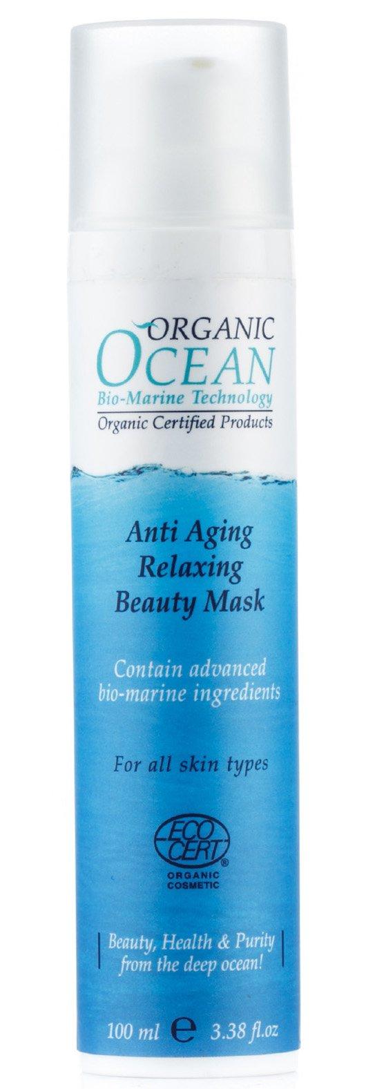 Organic OceanOrganic Ocean<br>Производство: Израиль &amp;lt;p&amp;gt;Расслабляющая маска смягчает, увлажняет и успокаивает самую чувствительную кожу.&amp;lt;/p&amp;gt;.<br>        <br>Маска эффективно смягчает, увлажняет и успокаивает самую чувствительную кожу, восстанавливает ее тонус и эластичность , придает ей свежий и здоровый вид, содержит экстракт красных водорослей, который выводит токсины и защищает клетки кожи от окислительного процесса.<br>Способ применения: после очищения кожи нанести маску на лицо, избегая области вокруг глаз. Держать не менее 10 минут, остатки смыть теплой водой. Применять 1-2 раза в неделю.<br>Состав: сок листьев алоэ, глицерил стеарат цитрат, цетеарил гликозидов отрубей пшеницы, цетиловый и цетеариловый спирты, глицерин растительный, масло ши, оливковое масло, каолин, масло жожоба, цетеариловый оливат, сорбитан оливат, сквален, трикаприлин, экстракт красных водорослей (каррагенан), масло из семян инка-инче, будлеи Давида экстракт, тимьяна обыкновенного экстракт, гиалуроновая кислота, сахаридные изомеризата, ацетат токоферола, пчелиный воск, глицерин каприлат, п-анисовая кислота, бензиловый спирт, бензойная кислота.<br><br>Линейка: Organic Ocean<br>Объем мл: 100<br>Пол: Женский