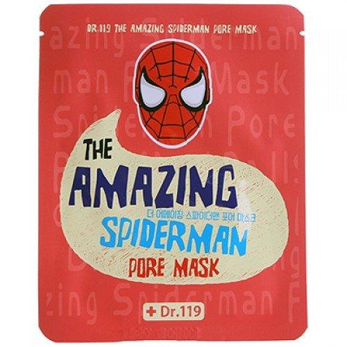 Dr.119 The Amazing Spiderman pore Mask BaviphatBaviphat<br>Расширенные поры зачастую доставляют столько хлопот, что заставляют перепробовать массу средств. Теперь не нужно ничего искать и экспериментировать, ведь с волшебной маской, сужающей поры, эта проблема перестанет для вас существовать. Кроме того, принт Человека-паука добавляет некую изюминку в повседневные косметические процедуры Маска содержит лечебные компоненты, обогащенные силой природы, которые с легкостью решают проблему расширенных пор: древесный уголь, экстракты портулака, грейпфрута, красных водорослей, аллантоин, а также гиалуроновую кислоту. Активные компоненты: Древесный уголь - помогает справиться с закупоркой пор, очищает их и приводит в норму работу сальной секреции. Он помогает токсинам быстрее покидать ткани, тем самым улучшая внутренние процессы эпидермиса. Растительные экстракты - оказывают питательное действие, нормализуют липидный баланс, укрепляют сосуды. Гиалуроновая кислота - точно также, как и компонент аллантоин, являясь мощнейшими увлажнителями, поддерживают гидробаланс в норме и препятствуют пересыханию тканей. Красные водоросли - помогают коже стать мягче, очищают и дарят ей приятную бархатистость. Совместное действие всех компонентов маски заметно сужает поры сразу после первого использования. Способ применения: очистите кожу тоником, приложите маску к коже, чтобы она не образовывала складки. Оставьте на 15-20 минут. Оставшуюся жидкость вмассируйте в кожу.<br><br>Линейка: Dr.119 The Amazing Spiderman pore Mask Baviphat<br>Объем мл: 25<br>Пол: Женский