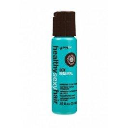 Sexy HairSexy Hair<br>Производимая компанией&amp;nbsp;SEXY HAIR косметика для волос&amp;nbsp;отличается своей оригинальностью и эффективностью. Одним из лучших образцов этой косметики можно назвать несмываемую маску для волос&amp;nbsp;SOY RENEWAL MOURISHING STYLING. Данный продукт относится к Соевой линии от&amp;nbsp;Sexy Hair. В него входят протеины сои, которые известны своими восстанавливающими и укрепляющими свойствами.<br>Однако по-настоящему уникальной маску делает такой компонент, как масло арганы - плодов дерева, произрастающего в Северной Африке. По концентрации витамина Е это масло не знает себе равных. После применения&amp;nbsp;SOY RENEWAL MOURISHING STYLING&amp;nbsp;волосы становятся эластичными, мягкими и гладкими. Прическа приобретает ухоженный и стильный вид.<br>Компания&amp;nbsp;SEXY HAIR&amp;nbsp;создала маску, обладающую исключительными качествами. Она моментально впитывается в волосы, не склеивает их и не делает их тяжелыми. Волосы, пострадавшие от высоких температур, красителей и химических веществ, быстро восстанавливаются и обретают блеск и здоровье.<br>Маска оберегает волосы от выпадения и появления секущихся кончиков<br>Способ применения: маску&amp;nbsp;SOY RENEWAL MOURISHING STYLING&amp;nbsp;можно использовать на сухих и влажных волосах, нанося ее кончиками пальцев и не смывая после применения.<br><br>Линейка: Sexy Hair<br>Объем мл: 25<br>Пол: Женский
