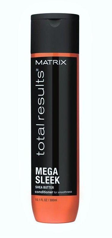 MatrixMatrix<br>Производство: США Кондиционер МЕГА СЛИК с Маслом Ши укрощает непослушные волосы, защиая от влаги для безупречной гладкости.&amp;nbsp;Масло Ши&amp;nbsp;в составе борется с пушистостью волос.&amp;nbsp;<br>Результат: гладкость волос надолго благодаря секрету антистатического эффекта.&amp;nbsp;<br>Ингредиенты: масло Ши.<br>Рекомендации: для нормальных или жестких непослушных волос.<br>Способ применения: после использования шампуня МЕГА СЛИК нанести на влажные волосы. Смыть водой. При попадании в глаза немедленно промыть водой.<br><br>Линейка: Matrix<br>Объем мл: 300<br>Пол: Женский