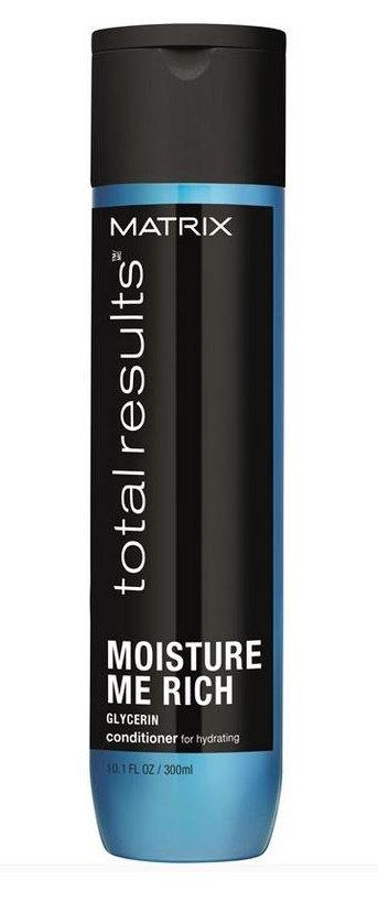 MatrixMatrix<br>Производство: США Кондиционер Moisture Me Rich (Мойсчер Ми Рич) с глицерином слои? за слоем увлажняет волосы, придает мягкость и блеск, делает волосы более послушными. Увлажняет волосы, обеспечивая долговременную мягкость, лёгкость волос Обеспечивает сияние, лёгкость расчёсывания, и мягкость укладки. В результате полностью восстановленные и увлажнённые волосы. Способ применения: после использования шампуня Moisture Me Rich нанести на влажные волосы. Помассировать. Смыть водой. При попадании в глаза немедленно промыть их водой.<br><br>Линейка: Matrix<br>Объем мл: 1000<br>Пол: Женский