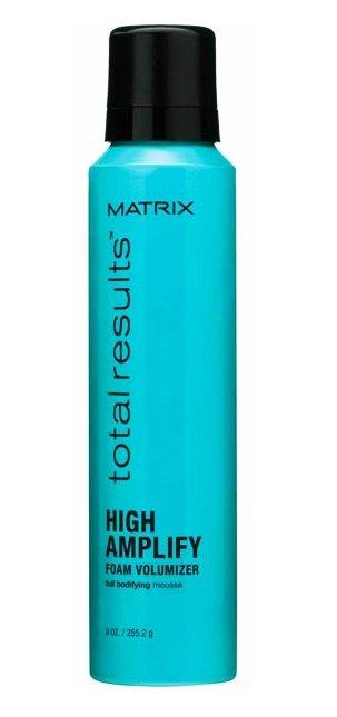MatrixMatrix<br>Производство: США Легкий мусс Matrix Total Results High Ammplify Foam Volumizer бережно приподнимает волосы и обеспечивает сохранность их формы на 24 часа. Обеспечивает превосходный объем даже самых тонких и безжизненных волос при любой укладке без малейшего утяжеления.&amp;nbsp;<br>Способ применения: нанесите Матрикс Фоам Волюмайзер на влажные волосы, отжав их после мытья полотенцем, и распределите равномерно по всей длине.&amp;nbsp;<br><br>Линейка: Matrix<br>Объем мл: 250<br>Пол: Женский