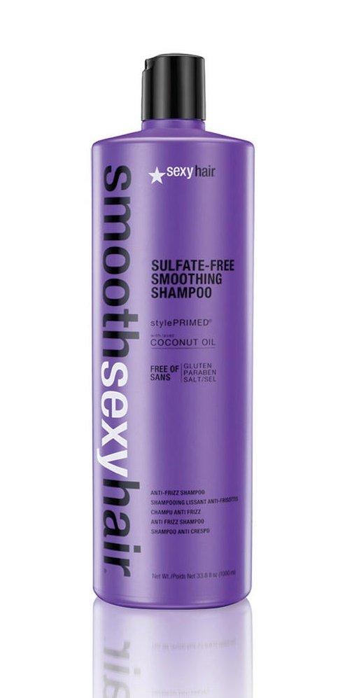 SM-38CON33 Sexy HairSexy Hair<br>Компоненты кондиционера преобразуют пушащиеся, волнистые и кудрявые волосы в гладкие, мягкие и блестящие. Разглаживает кутикулу, придавая максимальный блеск. Не содержит сульфатов, клейковины, парабенов и солей.<br>Сохраняет стойкость кератинового и химического выпрямления, работает на наращённых волосах. Кокосовое масло помогает бороться с пушистостью и достигать максимально гладких результатов на продолжительное время. &amp;nbsp;Укрепляет и защищает волосы от повреждений и ломкости.&amp;nbsp;<br>Рекомендации:<br><br>Толщина волос: тонкие, средние, толстые, жесткие<br>Состояние волос: сухие, поврежденные, окрашенные<br>Желаемый эффект: выпрямление, смягчение, гладкость<br><br>Споосб применения: равномерно распределите небольшое количество кондиционера по всей длине волос, вымытых Шампунем раглаживающим без сульфатов . Оставьте для воздействия на 1-2 минуты. Тщательно смойте.<br><br>Линейка: SM-38CON33 Sexy Hair<br>Объем мл: 1000<br>Пол: Женский