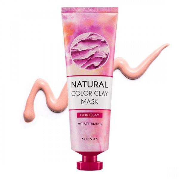 Natural Color Clay Mask (Moisturizing&amp; Energy) MisshaMissha<br>Маска с глиной содержит натуральный экстракт персика, благодаря чему, маска интенсивно увлажняет кожу, одновременно способствуя мягкому очищению кожи от мертвых ороговевших клеток. Маска с персиком и розовой глиной моментально снимает шелушения, устраняет чувство стянутости и раздражения на сухой коже, способствует сохранению и поддержанию гидро-липидного барьера. Из-за свойства глины нежно отшелушивать кожу, маска выравнивает текстуру кожи, стимулирует обновление клеток кожи.<br>Экстракт персика оказывает увлажняющее, питательное, витаминизирующее действие, освежает и разглаживает кожу. Способствует питанию, увлажнению и смягчению кожи. Маска делает дерму более эластичной и упругой, снимает разного рода раздражения и воспаления, устраняет шелушение и сухость.<br>Не содержит парабенов, минерального масла, бензофенона, карбомера, имидазолидинила, ВНТ, вазелина, талька, триэтаноламина.<br>Серия Missha Natural Color Clay Mask допускает возможность смешивания масок различного цвета, для наиболее лучшего ухода за кожей.<br>Способ применения: нанесите маску на очищенную кожу6 после применения тоника, распределите маску по всей поверхности кожи лица, избегая области глаз и губ. Оставьте на 10-15 минут. Смойте теплой водой после высыхания. Для использования 1-2 раза в неделю.<br><br>Линейка: Natural Color Clay Mask (Moisturizing&amp; Energy) Missha<br>Объем мл: 137<br>Пол: Женский