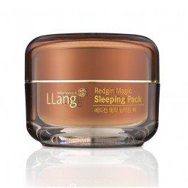 LlangLlang<br>Ночная маска глубокого действия на основе масла корня 6-ти летнего красного женьшеня оказывает глубокий восстанавливающий и анти-возрастной эффект на кожу лица. Активные компоненты маски глубоко увлажняют и восстанавливают кожу пока вы спите.<br>Маска с активными компонентами придает коже эластичность, разглаживает уже существующие морщинки и предотвращает появление новых. Масло корня женьшеня снимает усталость за счет усиления циркуляции крови и насыщения клеток витаминами и полезными микроэлементами.<br>Глютен, содержащийся в корне красного женьшеня, способствует экстренному восстановлению клеток кожи, способствует заживлению поврежденных участков, а также заботится о лечении акне и следов постакне. Желеобразная текстура маски специально разработана для более плотного соприкосновения с кожей, для лучшего проникновения активных веществ.<br>Маска рекомендуется к применению 1-2 раза в неделю в качестве дополнения к вашему ежедневному уходу за кожей лица. Оптимально использовать вместе с другими средствами из данной линии средств.<br>Элегантный восточный дизайн упаковки порадует вас и станет хорошим подарком для ваших близких.&amp;nbsp;<br>Способ применения: нанесите необходимое количество маски на кожу лица на конечном этапе вечернего ухода за кожей. Наносится за 10 минут до сна. Утром смойте теплой водой.<br><br>Линейка: Llang<br>Объем мл: 50<br>Пол: Женский