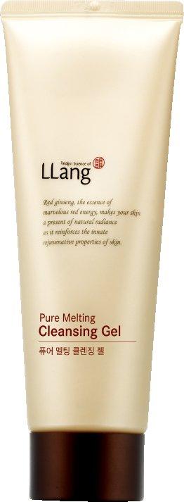 LlangLlang<br>Гель для умывания с экстрактом женьшеня с плотной, мягкой текстурой для эффективного очищения кожи лица и пор от ежедневных загрязнений, следов макияжа.<br>Женьшень способствует уменьшению поствоспалительной и возрастной гиперпигментации кожи. Увлажняет и защищает кожу.<br>Способ применения: небольшое количество средства вспеньте с малым количеством воды. Нанесите полученную пену на влажную кожу лица массажными круговыми движениями. После умойтесь теплой водой.<br><br>Линейка: Llang<br>Объем мл: 120<br>Пол: Женский