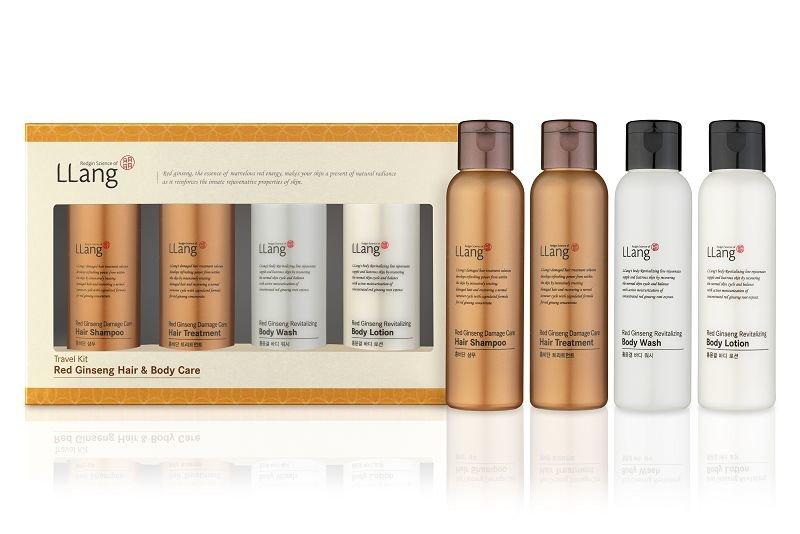 Hair&amp;Body Care: body wash, body lotion, shampoo, treatment LlangLlang<br>&amp;lt;p&amp;gt;&amp;lt;strong&amp;gt;В набор Red Ginseng Revitalizing Body входит:&amp;lt;/strong&amp;gt; &amp;lt;br /&amp;gt;- гель для душа LLang Red Ginseng Revitalizing Body Wash;&amp;lt;br /&amp;gt;- восстанавливающий лосьон для тела LLang Red Ginseng Revitalizing Body Lotion; &amp;lt;br /&amp;gt;- шампунь для поврежденных и окрашенных волос Red Ginseng Damage Care Shampoo; &amp;lt;br /&amp;gt;- бальзам-уход за поврежденными и окрашенными волосами Red Ginseng Damage Care Treatment&amp;lt;/p&amp;gt;.<br>        <br>Восстанавливающий гель для душа&amp;nbsp;LLang Red Ginseng Revitalizing Body Wash<br>Смягчающий восстанавливающий гель для душа с высокой концентрацией масла красного женьшеня. Естественный способ сделать кожу нежной и светящейся. Гель очищает кожу, мягко и без раздражения удаляя загрязнения и излишки жира.<br>Средство укрепляет естественный защитный барьер дермы. Увлажняет кожу в течение длительного времени, добавляя ей здоровый блеск. Отлично подойдет в качестве инъекции бодрости утром или расслабляющей природной терапии вечером.<br>Масло красного женьшеня оказывает на кожу омолаживающее и тонизирующее действие. Эпидермис становится здоровее, внешний вид кожи заметно улучшается &amp;ndash; она выглядит подтянутой и упругой.<br>Объем:&amp;nbsp;100 мл<br>Способ применения: небольшое количество средства нанести на чистую кожу мягкими круговыми массажными движениями. Затем смойте теплой водой.<br>Восстанавливающий лосьон для тела LLang Red Ginseng Revitalizing Body Lotion<br>Лосьон для тела с высокой концентрацией вытяжки из 6-летнего красного корейского женьшеня. Средство насыщает кожу питательными веществами, выводит токсины. Убирает стянутость, делает внешний вид кожи упругой и молодой. Стимулирует обмен веществ всего тела.<br>Консистенция продукта очень нежная и легкая. Средство быстро распределяется по коже, не оставляя ощущения липкости.<br>Красный женьшень активизирует