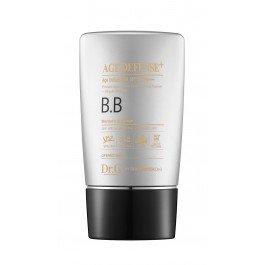 Dr. GDr. G<br>ББ крем Dr.G Age Defense BB SPF50+ PA+++ -&amp;nbsp;Антивозрастной BB крем с мультиэффектом.<br>Крем воссоздает защитный слой от негативного влияния УФ-излучения, предупреждает фотостарение кожи, поддерживает естественный липидный барьер.&amp;nbsp;Повышает жизненный тонус кожи, ускоряет процесс восстановления клеток.<br>Содержит ниацинамид, экстракт арбуза, масло ши, аденозин:<br><br>Ниацинамид относится принадлежит к клеточно-связующим компонентам. Он восстанавливает защитный барьер кожи и оберегает от обезвоженности. Помогает при постакне, тонизирует.<br>Экстракт арбуза предотвращает дряблость кожи, улучшает ее цвет, разглаживает, питает, увлажняет, нормализует метаболизм. Содержит витамины группы В, аскорбиновую и другие кислоты, способствующие улучшению здоровья кожи.<br>Масло ши смягчает, обладает анти-эйдж эффектом, разглаживает морщины. Стимулирует синтез коллагена, выработку керамидов и липидов. Ликвидирует воспаления.<br>Аденозин оптимизирует макро- и микроциркуляцию, окислительно-восстановительные процессы в клетках.<br><br>Подходит для всех типов кожи.<br>Способ применения:<br><br>Нанесите необходимое количество крема на кожу.<br>Аккуратно растушуйте.<br><br>Меры предосторожности:<br><br>При появлении раздражений, покраснений, сыпи и прочих аллергических реакций немедленно прекратите использование продукта. Проконсультируйтесь с врачом при осложнениях.<br>Не применять средство на открытые участки ранений, ссадин и раздражений.<br>При попадании средства на глаза, немедленно промойте теплой водой.<br><br>Способ хранения:<br><br>Хранить средство в закрытом состоянии после открытия упаковки.<br>Хранить в недосягаемости детей.<br>Избегать попадания прямых солнечных лучей.<br><br><br>Линейка: Dr. G<br>Пол: Женский
